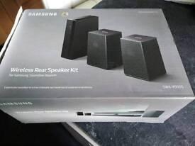 Samsung rear wireless speakers