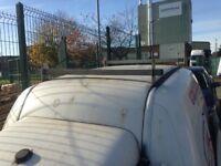 VW caddy mk2 wind deflectors and roof rack