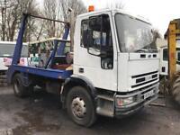 Iveco euro cargo 13 Ton skip lorry