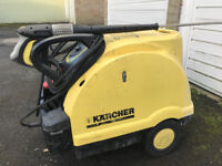 Karcher HDS 551C Eco Pressure Washer HOT COLD CLEANER JET CAR TRUCK WASH