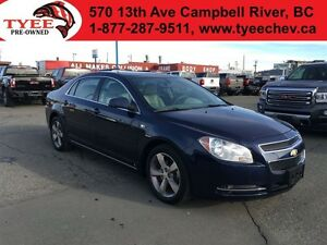 2008 Chevrolet Malibu LT Sunroof/Accident Free/Low Kms