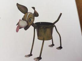 Goofy Dog Planter