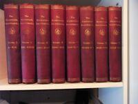 Harmsworth Encyclopedia (8 books )