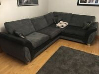 Corner Sofa and Cuddler Sofa