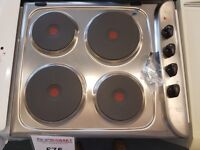 AKL730 Cooker hob top only Weymouth IGNIS AKL 730 Electric Hob Stainless steel