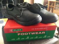 Click Steelcap Shoes Brand New size 11