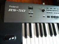 Roland RS 50 keyboard Roland Cube 15xl