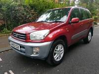 2003 Toyota Rav 4 GX - 2.0 Petrol - 4x4 - Drives Great - Immaculate condition