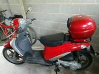 Piaggio liberty scooter