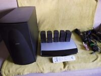 Bose Lifestyle 48 Home Theater System. Fully Working.