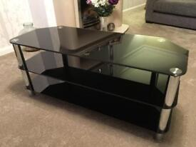 Large Glass T.V Stand