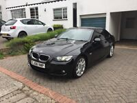 BMW 3 Series 320i M Sport Black Coupe Automatic Leather FULL SERVICE HISTORY MOT until 26/04/18