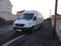 Mercedes sprinter long wheel based van