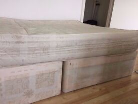 Double orthopedic mattress w/ Box-spring