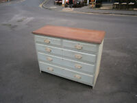 victorian / edwardian shabby chic chest of drawers
