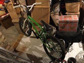 Ammo BMX bike [light green and white]