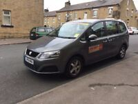 Leeds Private Hire Taxi SEAT ALHAMBRA 2.0 TDI ECOMOTIVE LEATHER