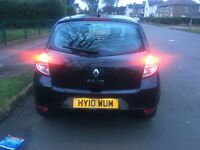 Renault Clio dynamique TCE.. 1.2 cc just passed mot today.. Some service history..
