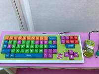 Kiddy club keyboard and mouse