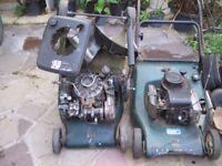 Job lot lawnmowers & parts.