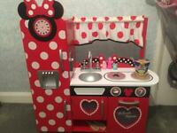 Mickey Mouse wooden kitchen