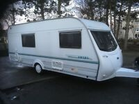 Coachman Amara 520/4-Berth Caravan With End Washroom/Shower
