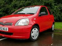 TOYOTA YARIS 1.3 AUTOMATIC 2002 10 SERVICES FROM TOYOTA EXCELLENT CONDITION