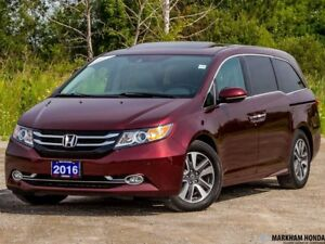 2016 Honda Odyssey TOUR- ACCDIENT FREE|LEATHER|BACKUP CAM|NAVI|D