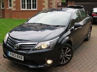 2013 TOYOTA AVENSIS ICON D-4D GREY SAR-NAV IMMACULATE
