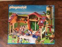 Playmobil 5119 barn with silo - Brand New In Box