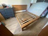 Super King Solid Wood Bed Frame