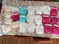 New real Nappies - Lollipop reusable nappies.