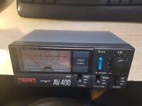 AV-400 AVAIR VSWR POWER METER 140 - 525MHZ