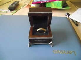 9ct gold lord of the rings ring