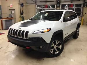 2014 Jeep Cherokee TRAILHAWK.V6.4x4.GPS.CAMERA.CUIR.DÉMARREUR.