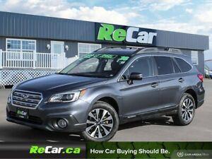 2016 Subaru Outback 3.6R Limited Package AWD | HEATED LEATHER...