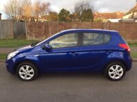 """Hyundai i20 Comfort CRDI 5 door. Only £20 road tax. In """"like new"""" condition."""