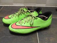 Nike Mercurial football boots size UK 5