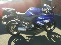 2012 Yamaha YZF R 125 sold as seen