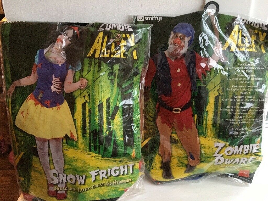 Snow White and a dwarf costume