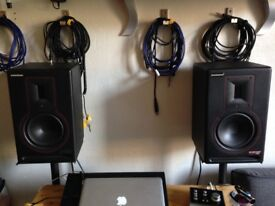 Samson Rubicon R6a Studio Monitor Speakers