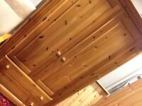 Solid pine wardrobes with 2 draws