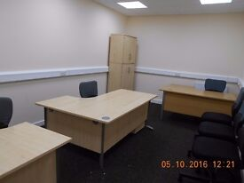To rent, recently refurbished & furnished office in BD1 (202sqft). Includes ALL bills & free Wi-Fi.