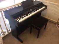 Digital piano - Thomann DP-40 - with stool and stand