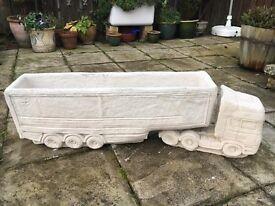 New Stone Scania Artic Truck Planter
