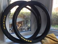 Maxxis Cross Mark Tyres and Inner Tubes