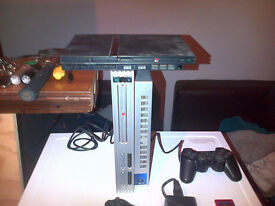{PS2} Playstation 2 - {{£35 Quick Sale}} - All Original cables etc , No box {{ Text Only }}