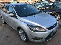 2009/58 FORD FOCUS 1.6 ZETEC 5DR SILVER,GREAT SPEC INC HEATED FRONT SCREEN,LOOKS AND DRIVES WELL