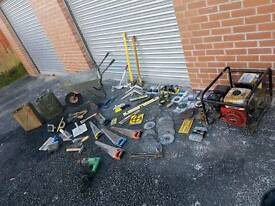Huge joblot power tools/tools/genny/mowers/accessories