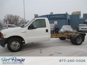 2005 Ford F-350 XL DUALLY CAN AND CHASSIS